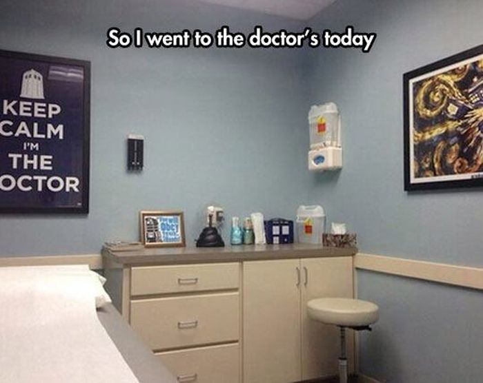 These Doctors Have Prescribed A Heavy Dose Of Laughter (20 pics)