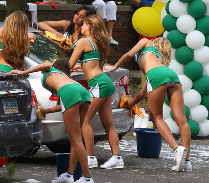 These Girls Are The Best Reason To Go To The Car Wash (70 pics)