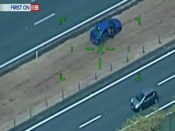Crazy Police Chase In Australia