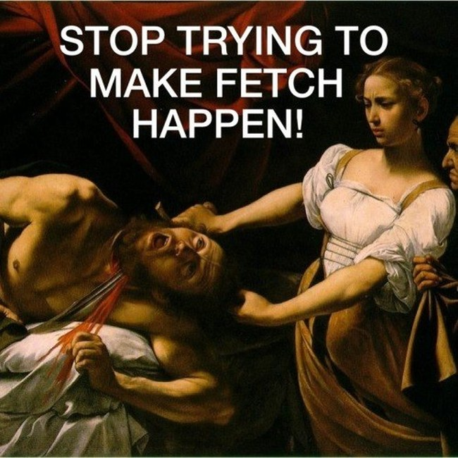 """These Paintings Are So Much Better With Quotes From """"Mean Girls"""" (32 pics)"""