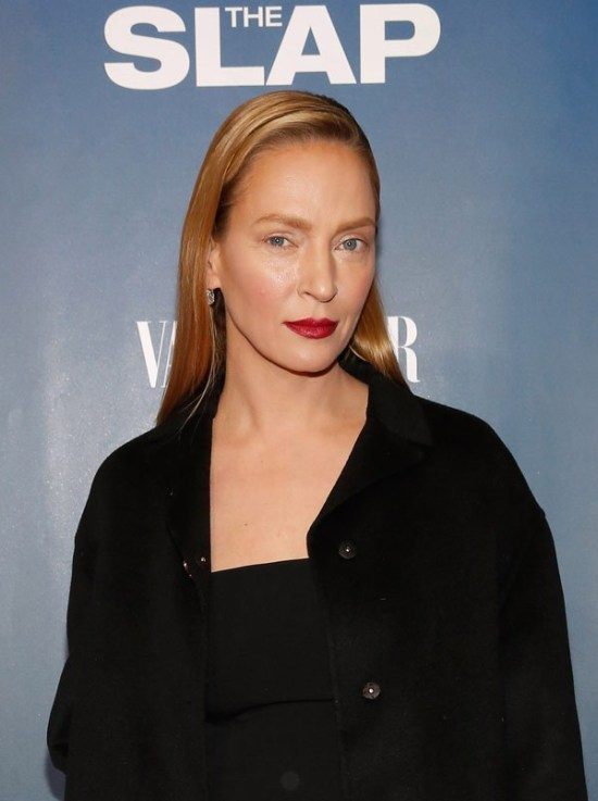 Uma Thurman Doesn't Look Like Herself Anymore (5 pics)