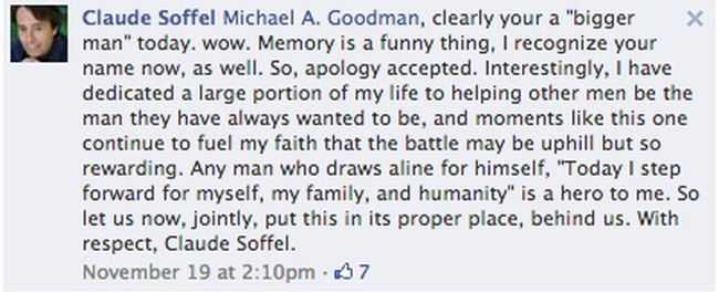 This Guy Apologized For A 30 Year Old Crime On Facebook (4 pics)
