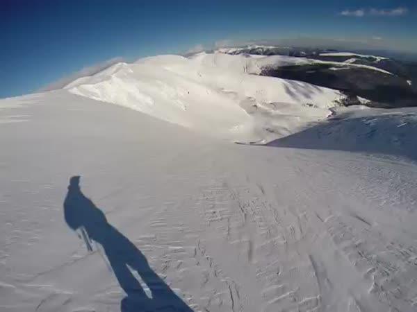 Snowboarder Vs Avalanche