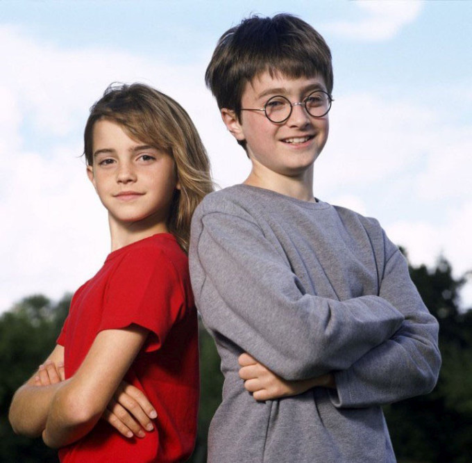 Press Photos Of The Harry Potter Cast Back In The Day (7 pics)