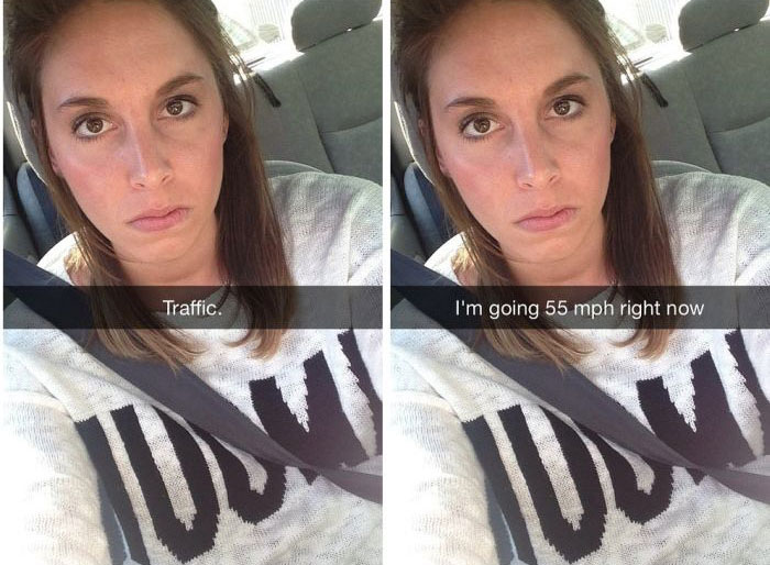 What It Would Look Like If People Were Actually Honest On Snapchat (15 pics)