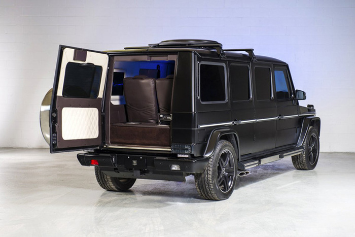 This Mercedes-Benz G 63 AMG Limo Is Ballin (8 pics)