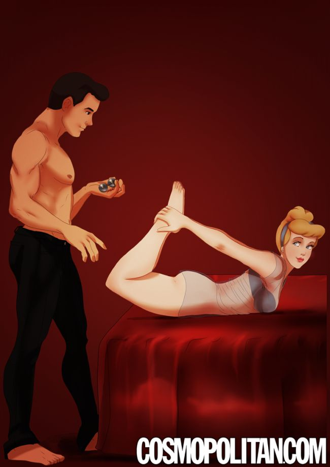 Disney Couples Get Kinky And Act Out Scenes From Fifty Shades of Grey (9 pics)
