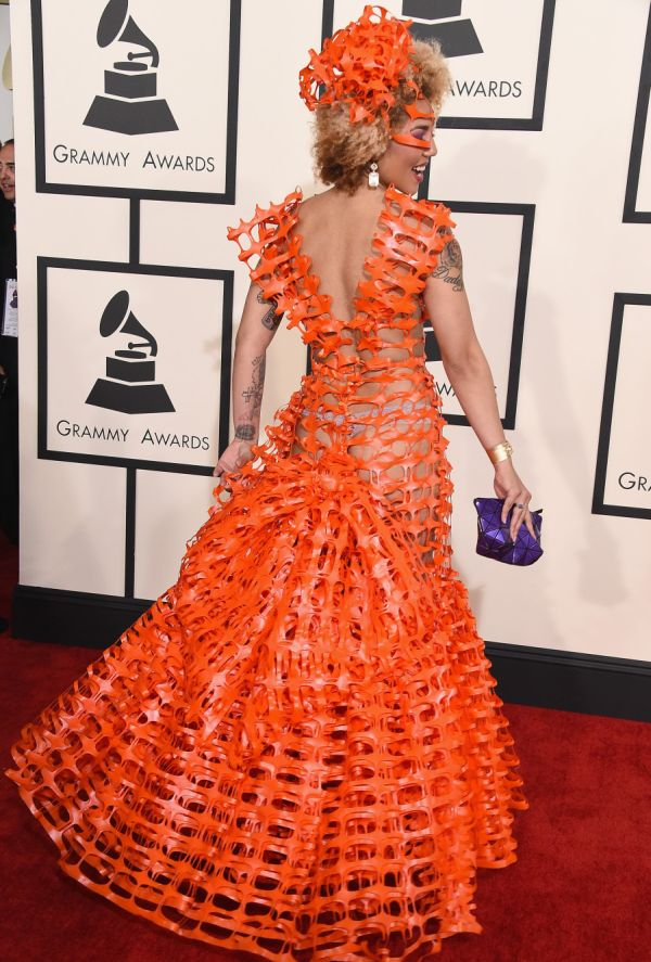 Joy Villas Grammy Dress Is Like Nothing Seen Before On