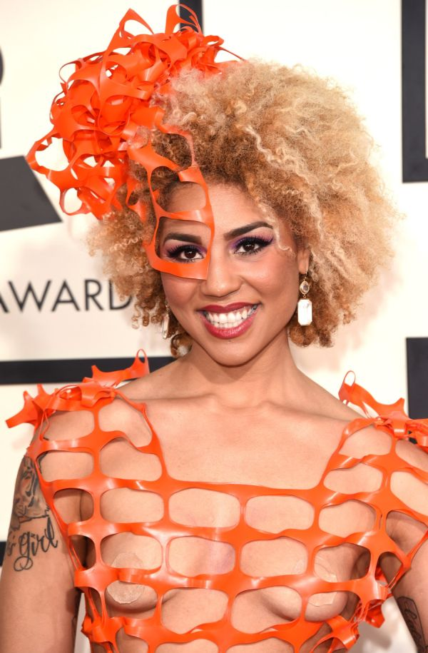 Joy Villa's Grammy Dress Is Like Nothing Seen Before On The Red Carpet (6 pics)