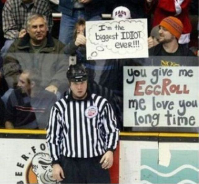 The Best Crowd Signs Ever Spotted At Sports Events (24 pics)