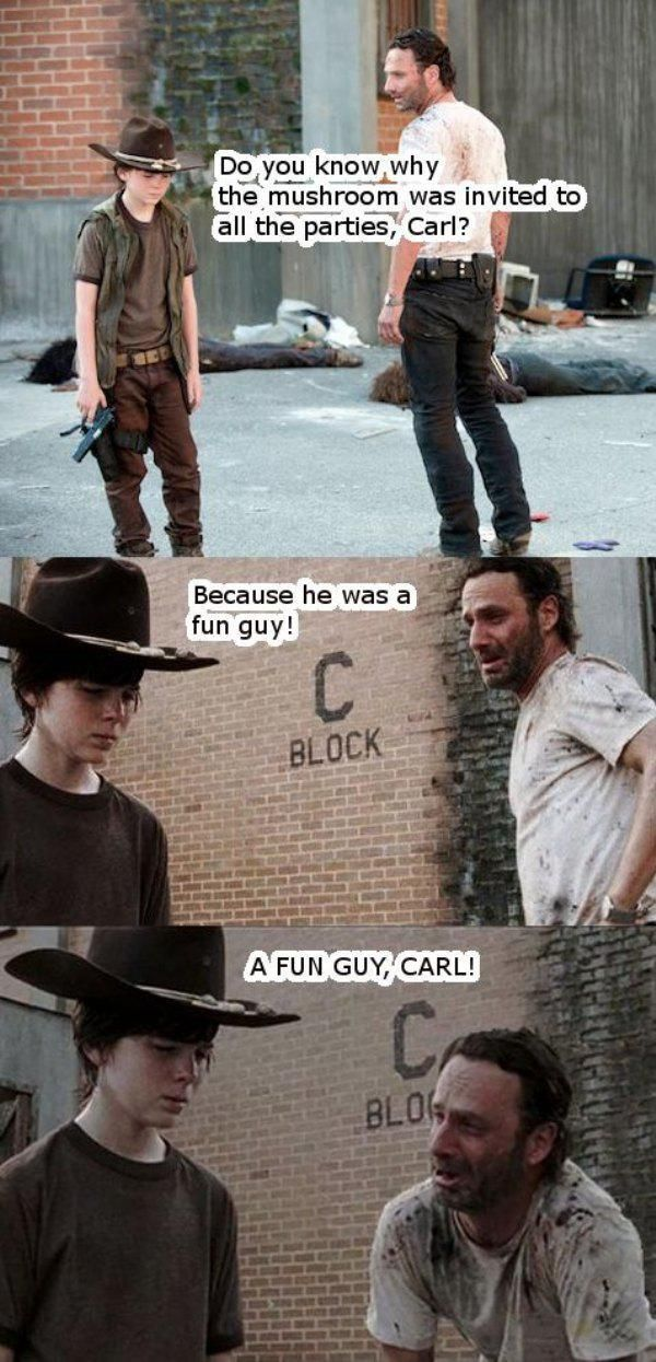 No One Tells Better Dad Jokes Than Rick Grimes From The Walking Dead (31 pics)