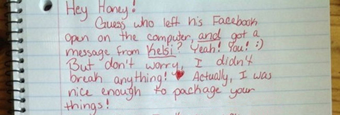 This Girl Caught Her Boyfriend Cheating And Got The Ultimate Revenge (5 pics)