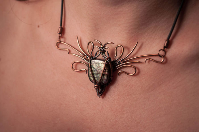 Man Turns Scrap Metal Into Beautiful Jewelry (17 pics)