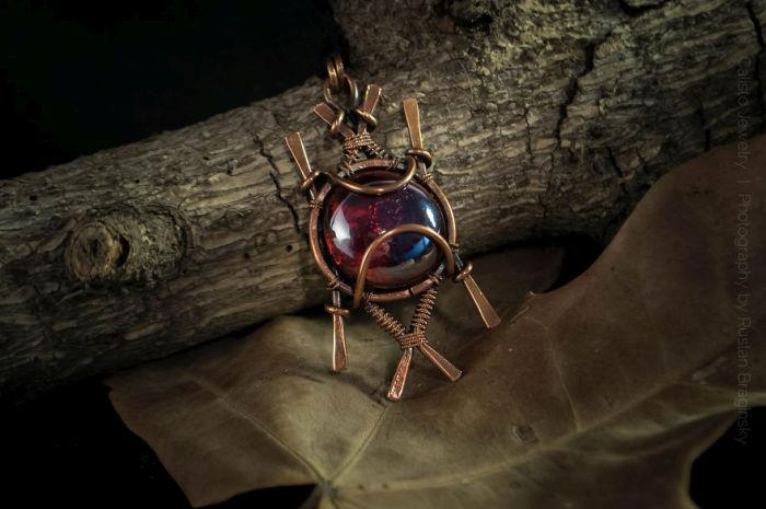 Man Turns Scrap Metal Into Beautiful Jewelry (17 pics)