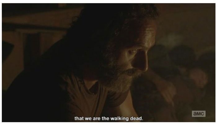 6 Of The Most Ridiculous Moments From Sunday's 'The Walking Dead' (15 pics)