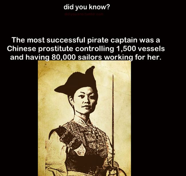 This Chinese Prostitute Was A Dominant Pirate (3 pics)