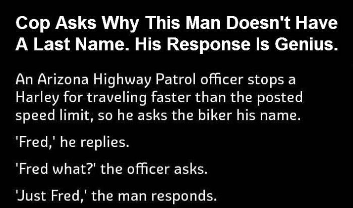 The Reason Why This Man Lost His Last Name Will Crack You Up (4 pics)