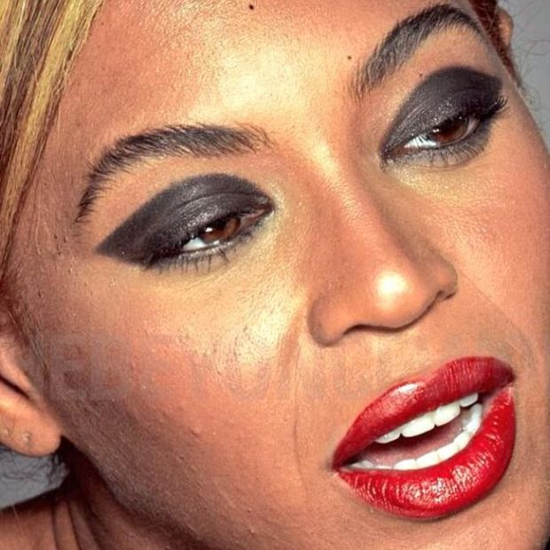 Beyonce Fans Are Furious After Untouched L'Oreal Photos Hit The Web (5 pics)