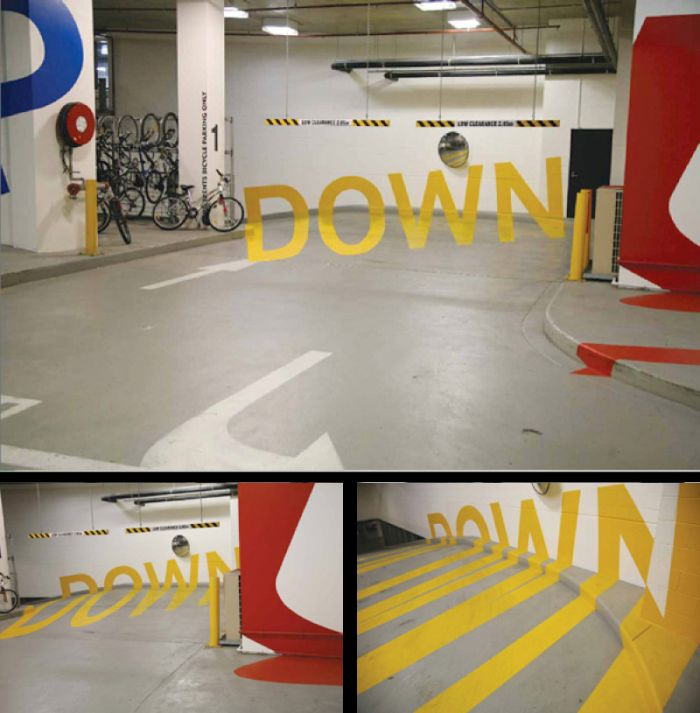 The Paint At Australia's Eureka Car Park Will Warp Your Brain (5 pics)