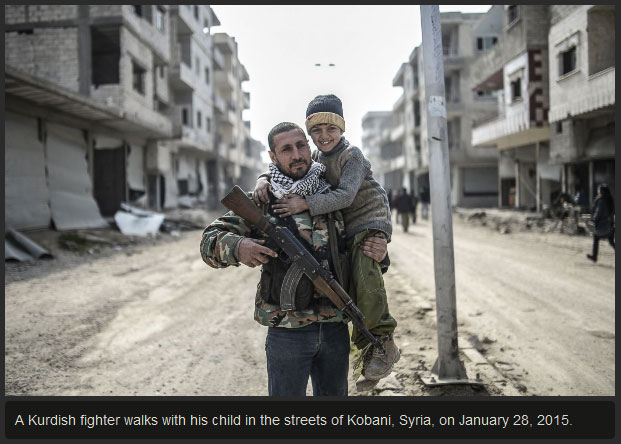 The City Of Kobani Is Safe After ISIS Is Exiled (10 pics)