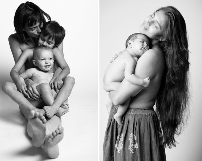 This Is How Mothers Are Supposed Look After Giving Birth (14 pics)