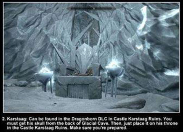 The Three Hidden Bosses You Need To Find In Skyrim (3 pics)