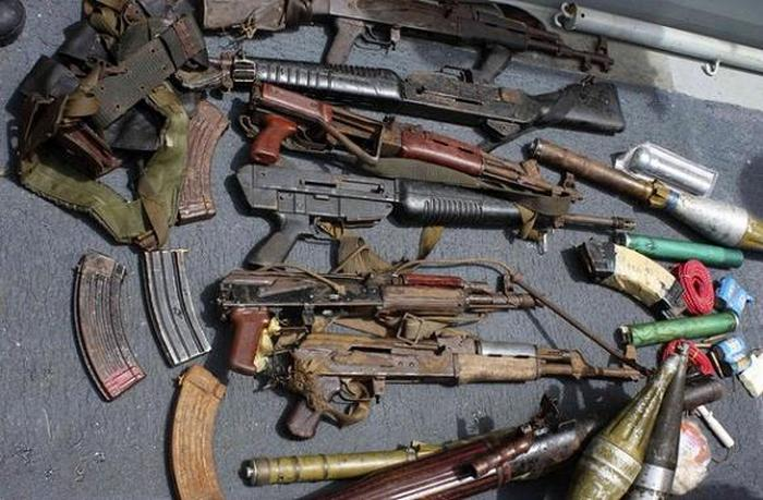 The Weapons Of Somali Pirates (24 pics)