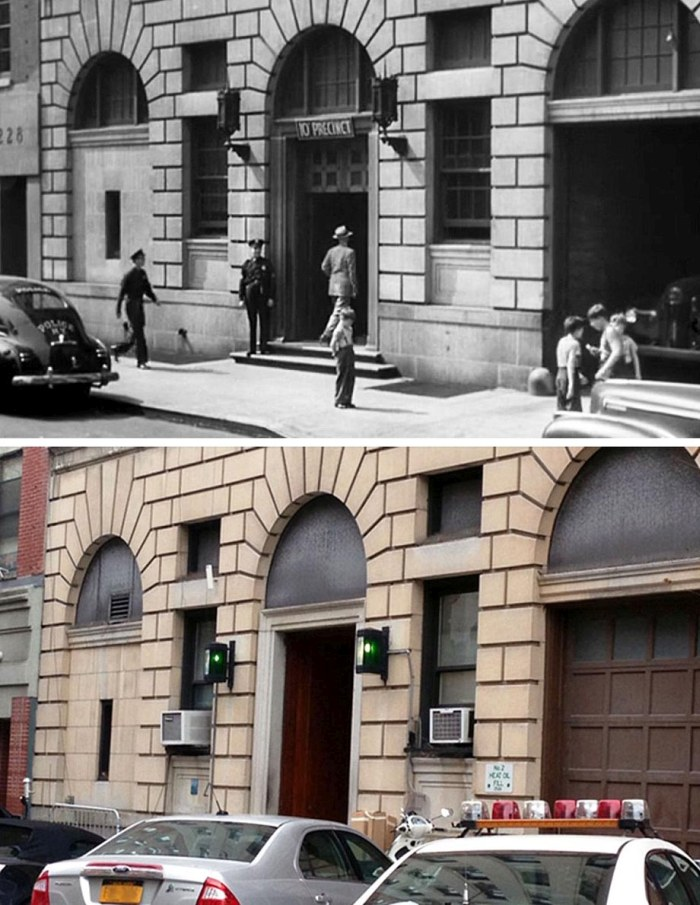 Famous Movie Locations Back In The Day And Today (14 pics)