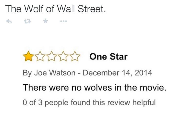 Hilarious Movie Reviews Found On Amazon (20 pics)