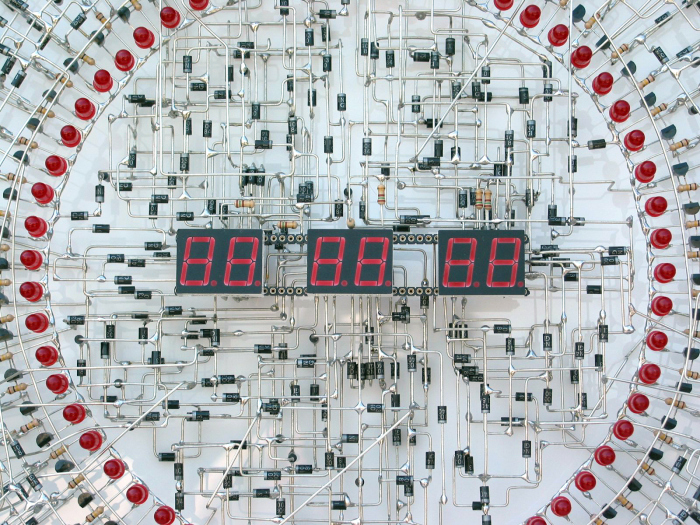 This Clock Is A Work Of Art (7 pics)