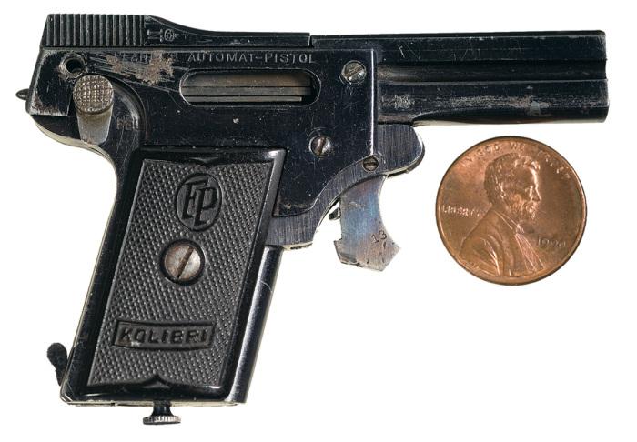 The world s smallest semi automatic pistol 7 pics