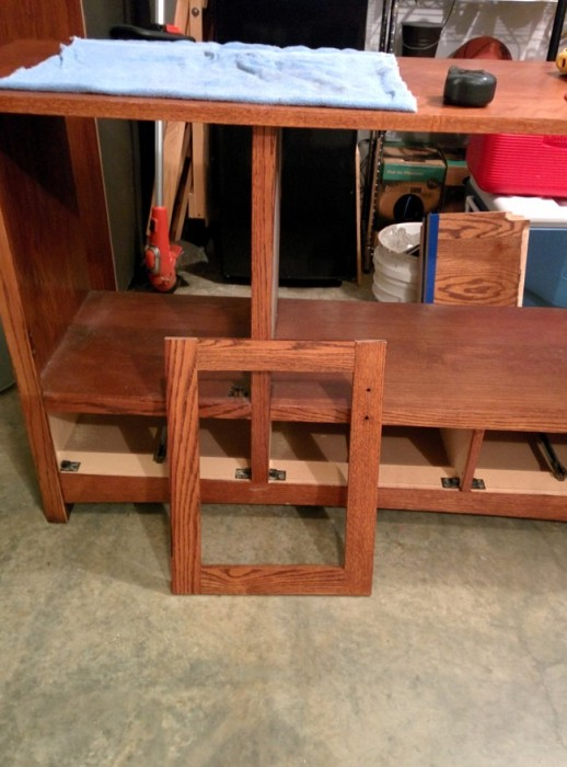 Old TV Cabinet Gets Transformed Into Something Much Cooler (11 pics)