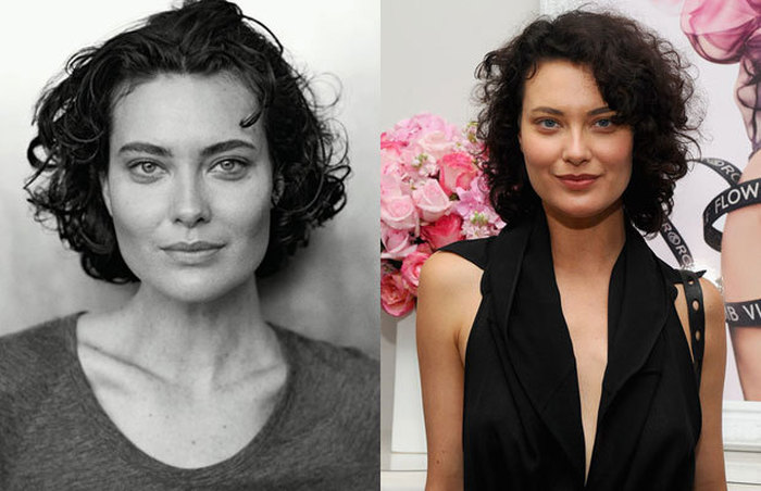 10 Famous Supermodels With And Without Makeup (10 pics)