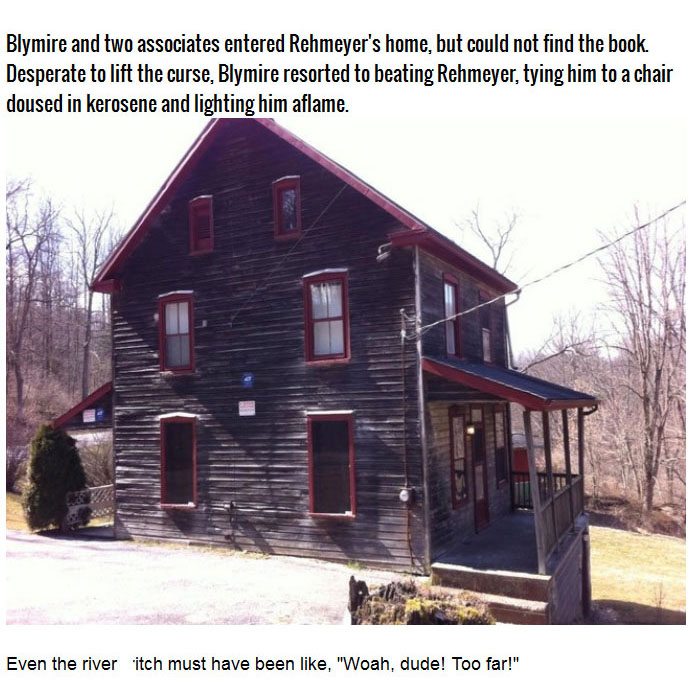 Is This Pennsylvania House Really Cursed? (5 pics)