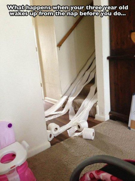 Proof That Kids Were Only Put On Earth To Destroy Things (30 pics)