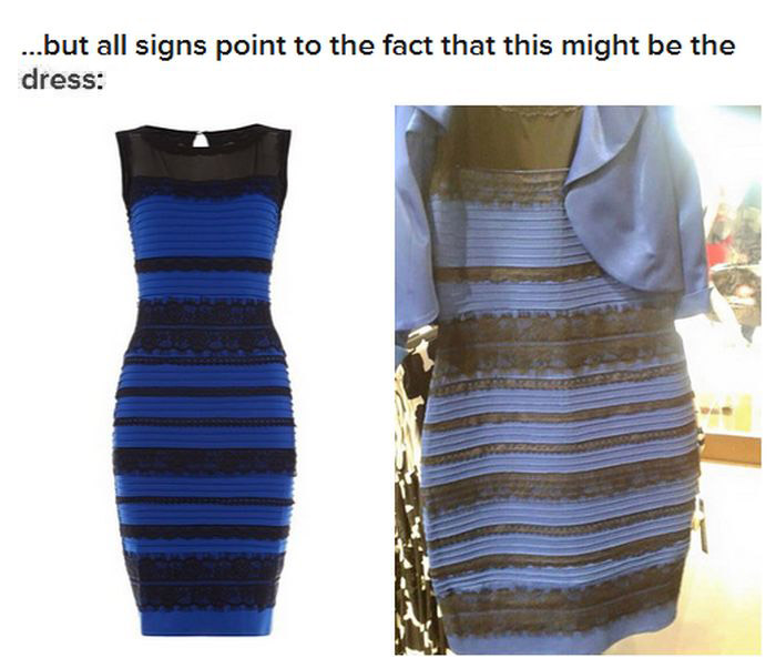 The Great Dress Debate Can Finally Be Put To Rest (4 pics)