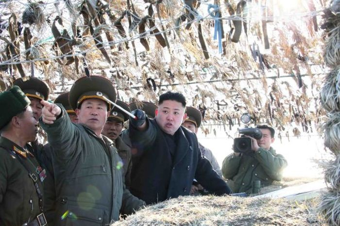Pictures Of Kim Jong Un In Action (116 pics)