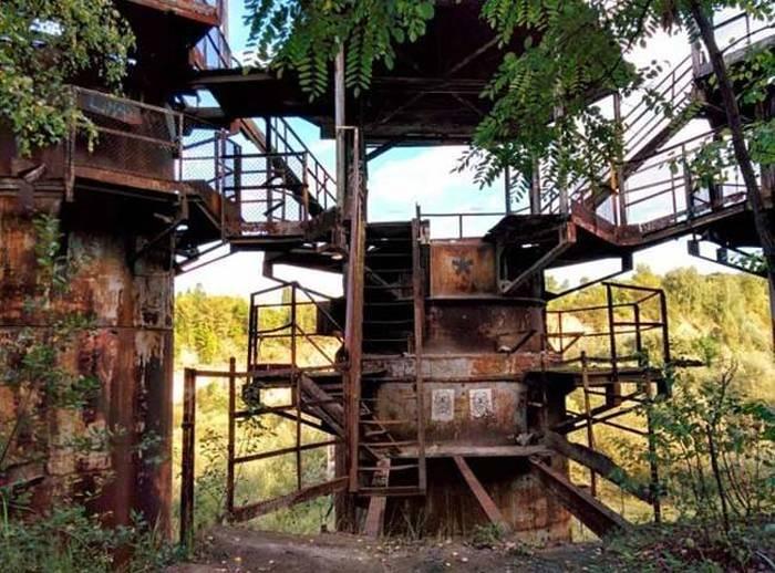 Sets de filmación abandonados