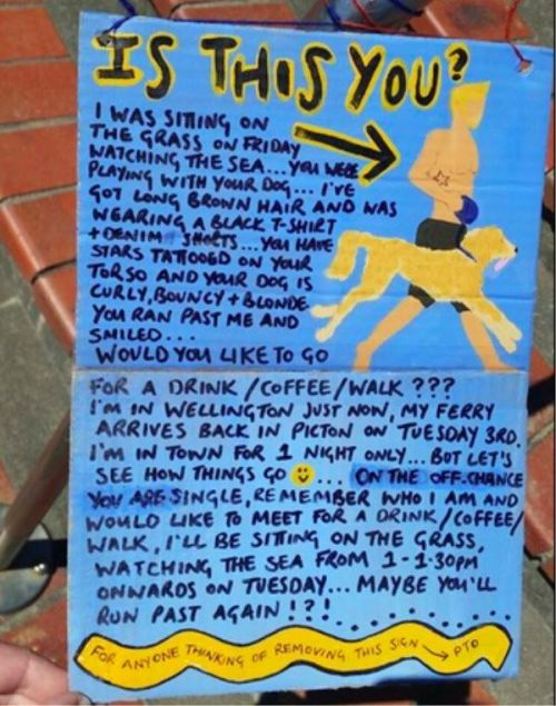 This Woman Got Her Man Thanks To An Awesome Sign (9 pics)