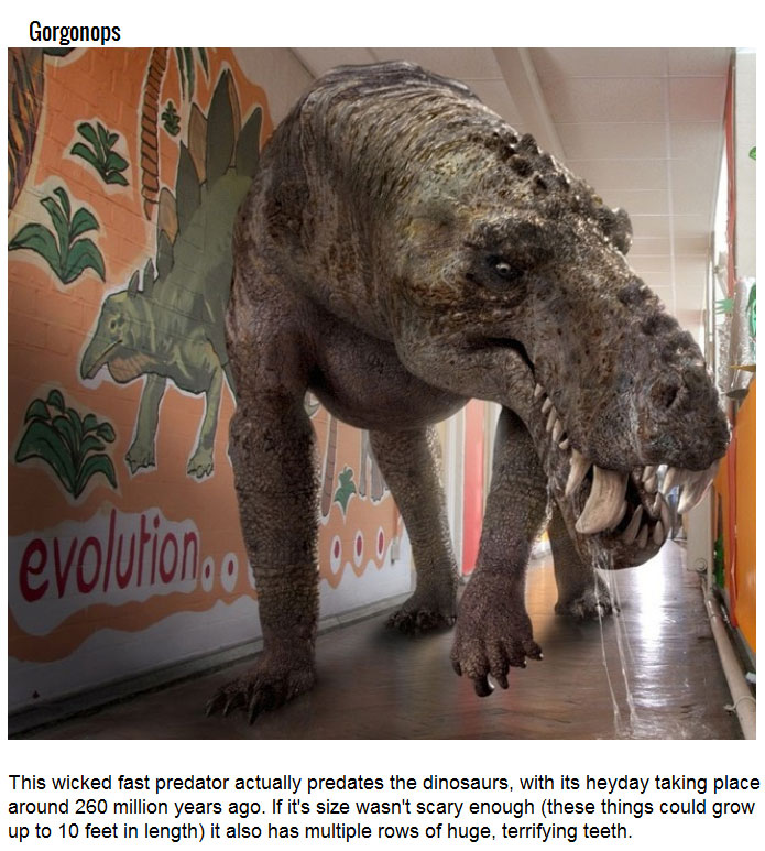 Prehistoric Creatures That Would Rule The World Today (7 pics)