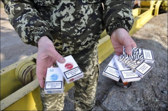 Busted For Cigarette Smuggling (11 pics)