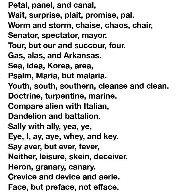90% Of People Can't Pronounce This Whole Poem, Can You? (6 pics)