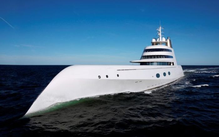 This Russian Billionaire Owns The World's Most Impressive Luxury Yacht (50 pics)