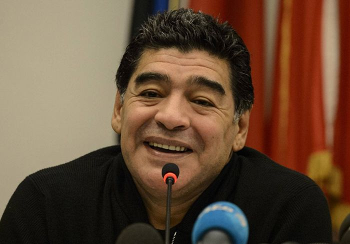 What Is Argentina Legend Diego Maradona Wearing? (3 pics)