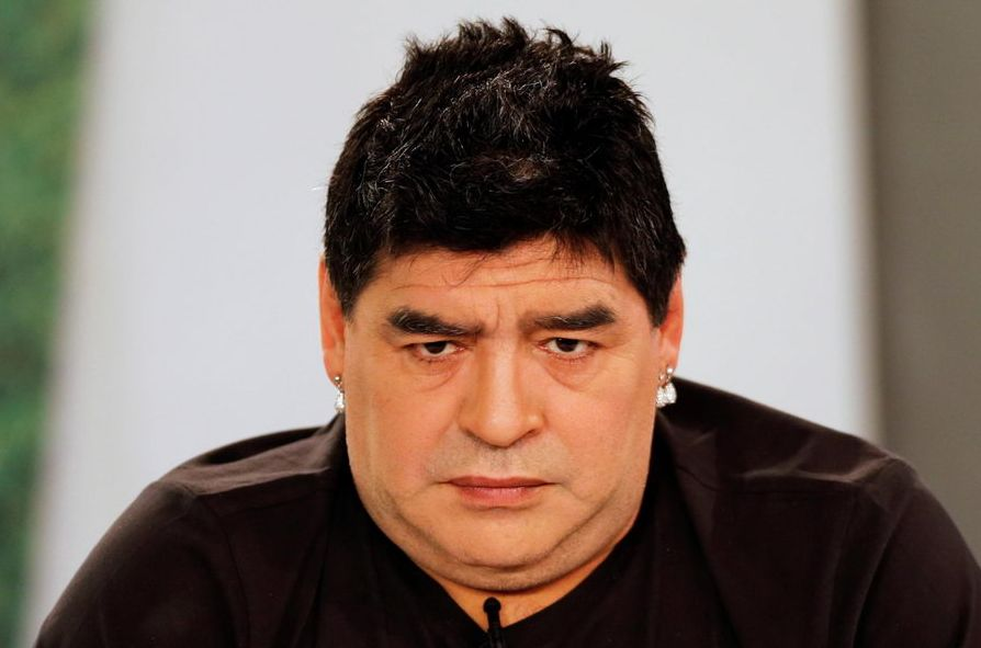 What Is Argentina Legend Diego Maradona Wearing? (3 pics)