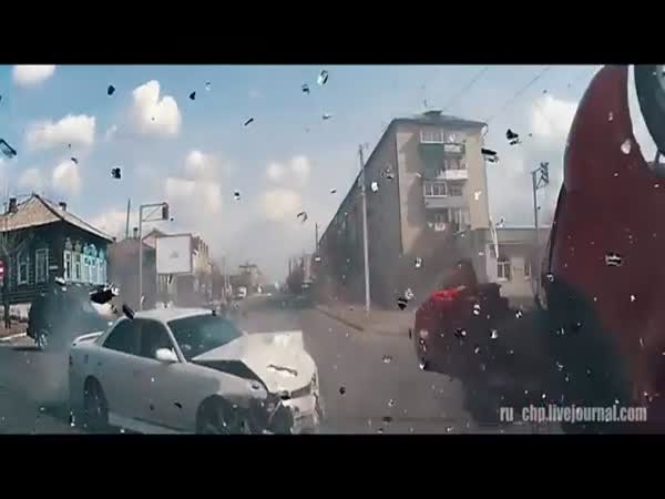 Car Crash Compilation From Russia