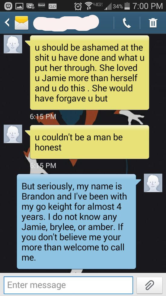 This Wrong Number Text Got Out Of Control (5 pics)