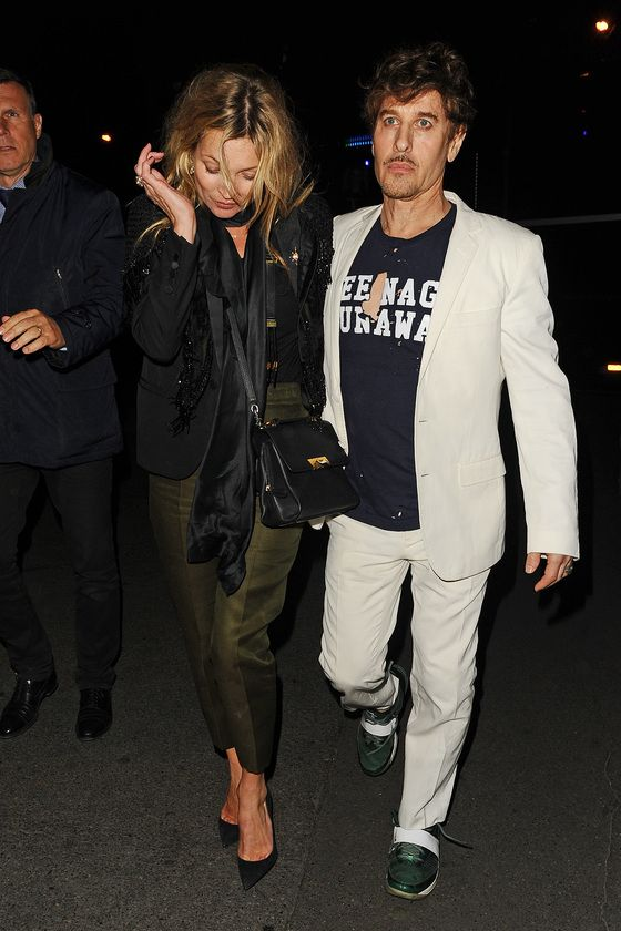 Kate Moss Got Messy When She Partied With Lady Gaga (7 pics)
