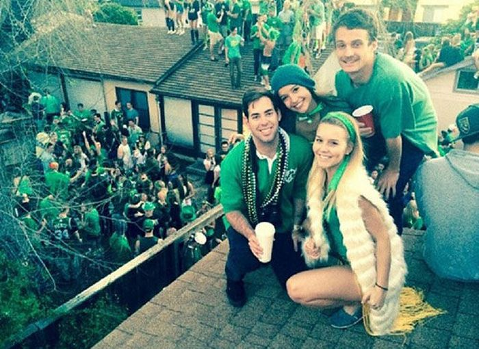 These College Students Partied So Hard The Roof Came Down (15 pics + video)