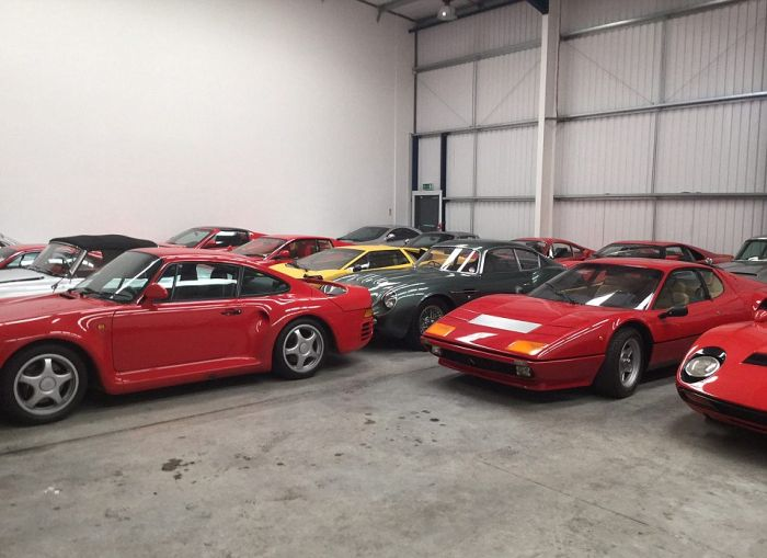 John Collins Buys Aladdin's Cave Of Classic Cars For $20 Million (13 pics)